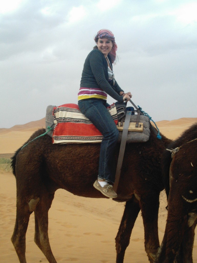 camal trek morocco bucket list, A Cruising Couple