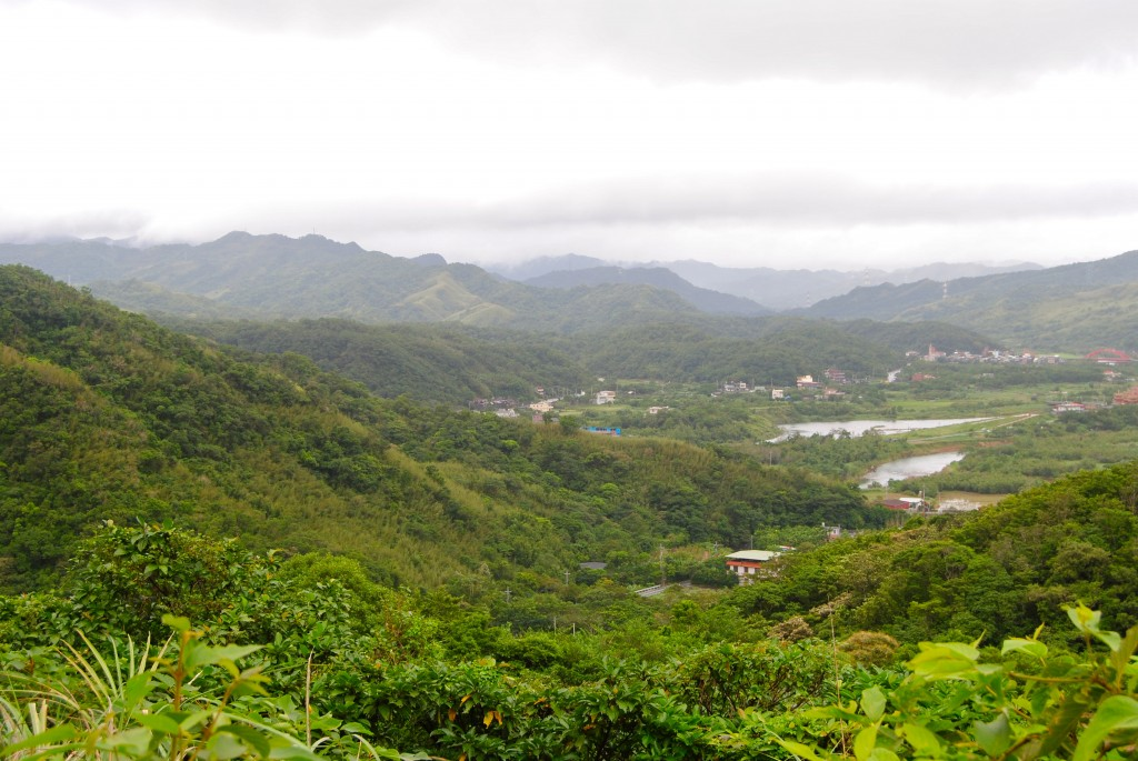 View from the Caoling Historic Trail