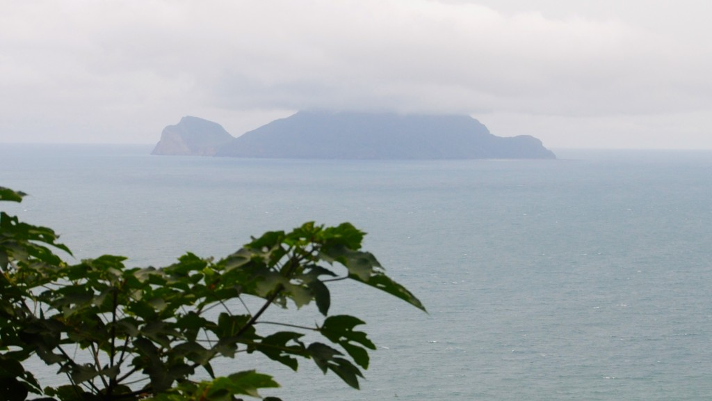 Turtle Island from the Caoling Historic Trail