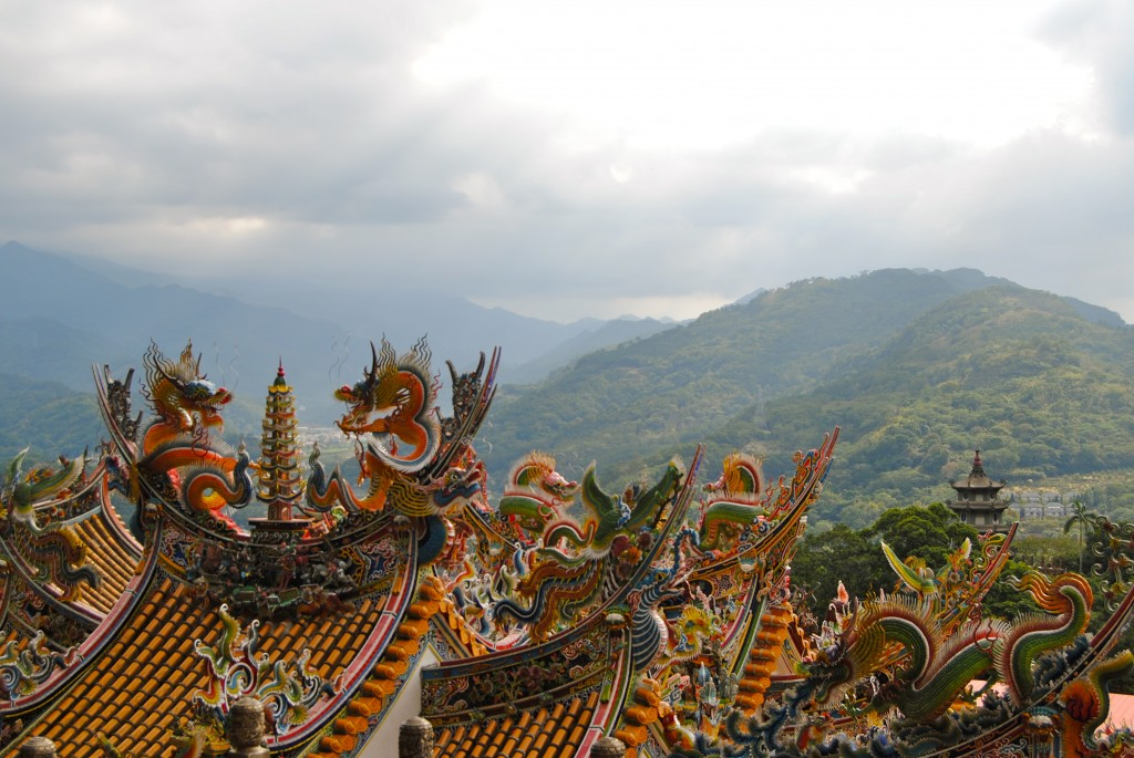 Dragon Temple, Lion Head Mountain