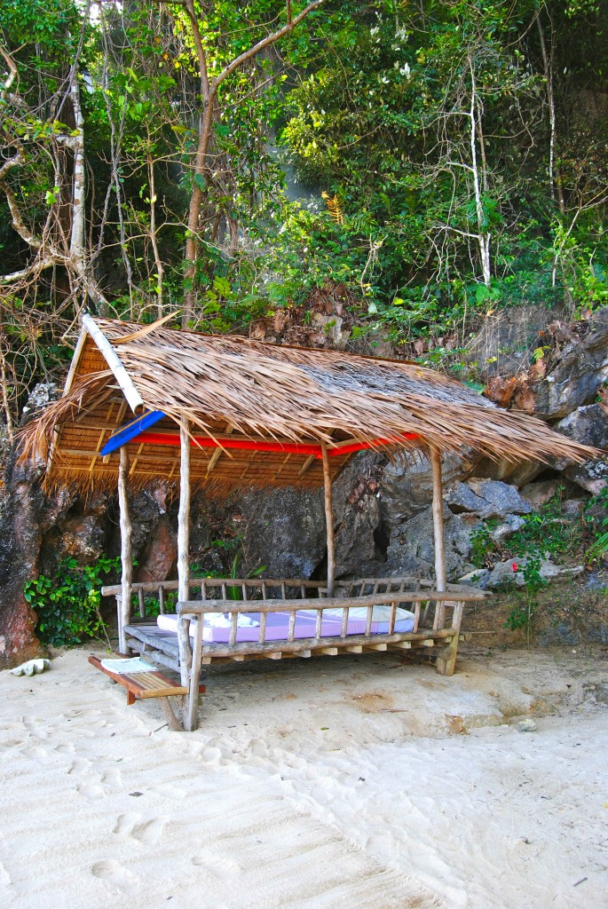 Bed in El Nido