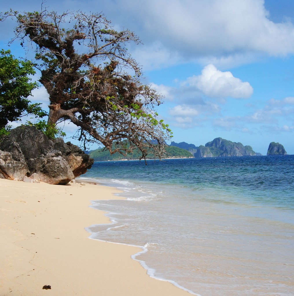 Private Beach in El Nido