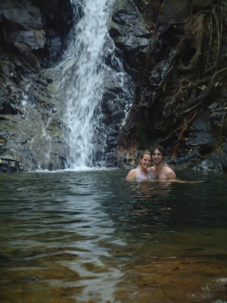 A Cruising Couple, Waterfall, El Nido