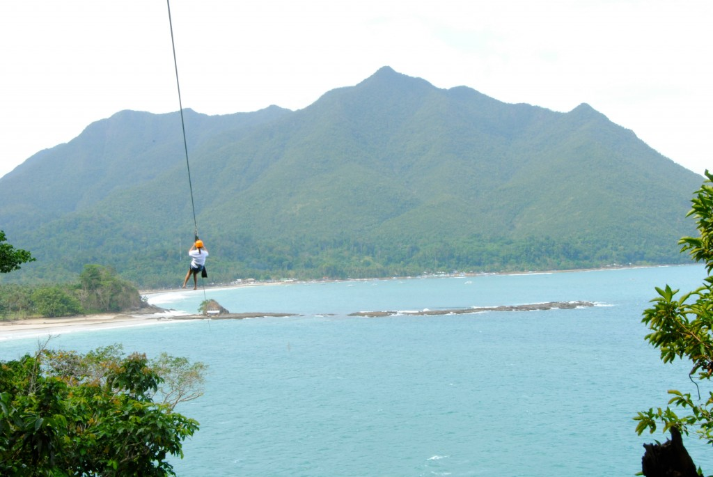 Zipline near the Underground River