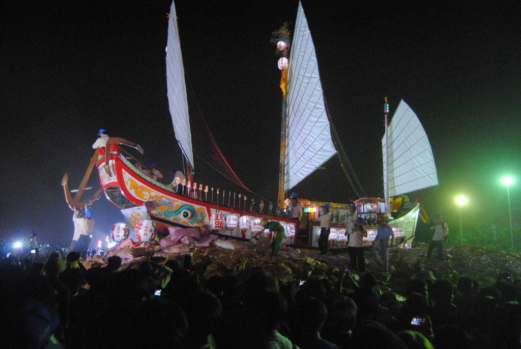 Raise the Anchors at Boat Burning Festival