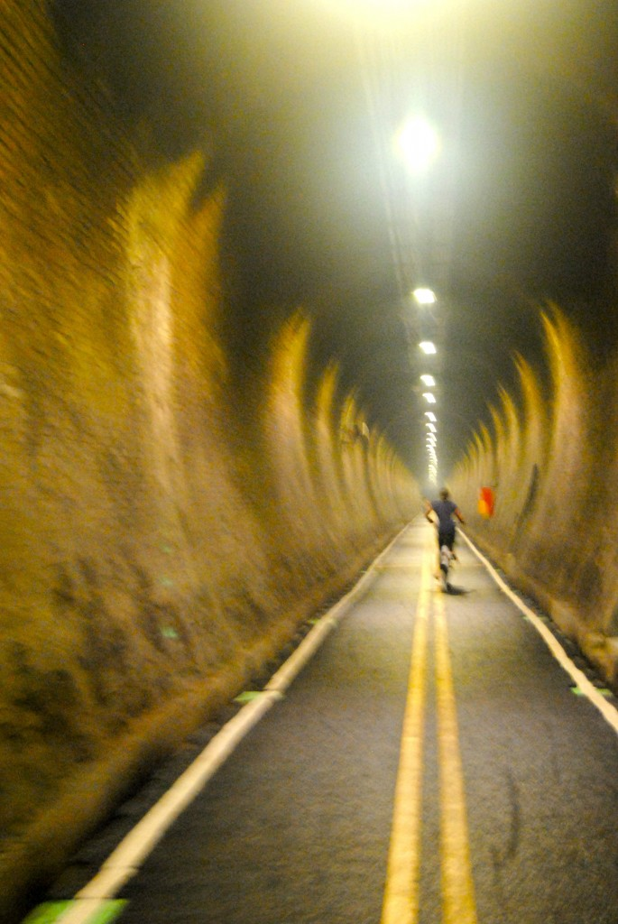 Tunnel Vision During October In Taiwan