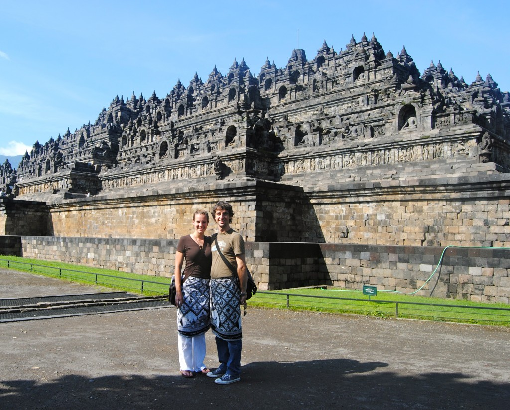 borobudur, A Cruising Couple