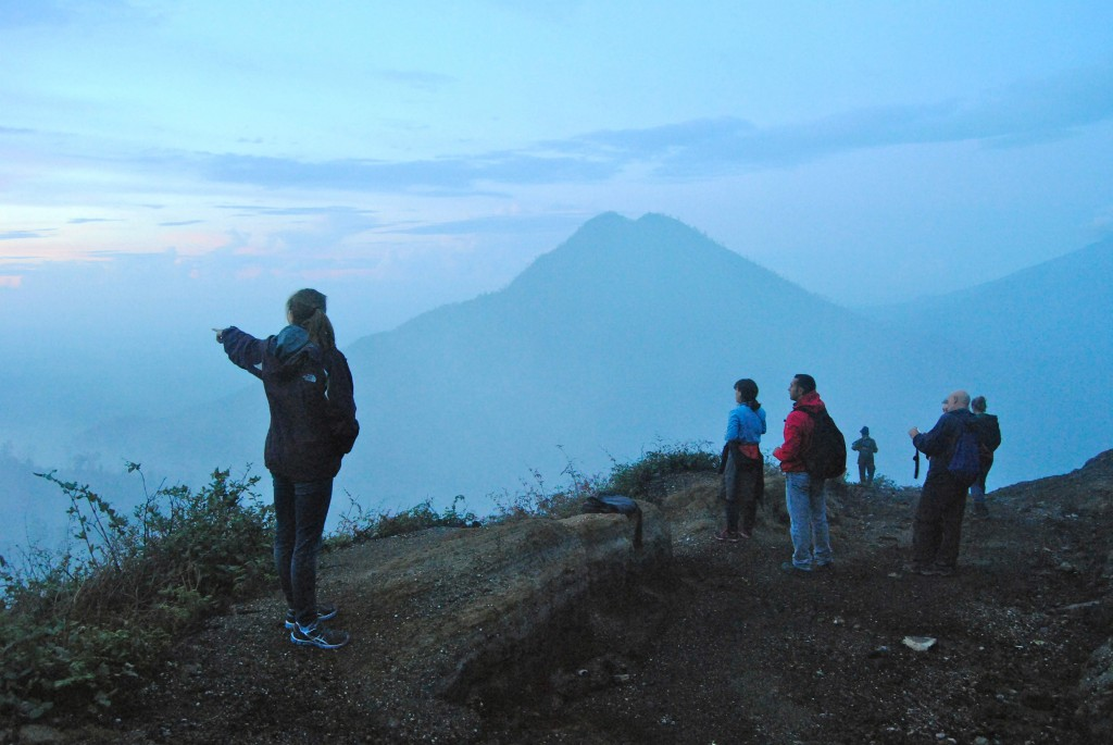 Mount Ijen View, Java A Cruising Couple
