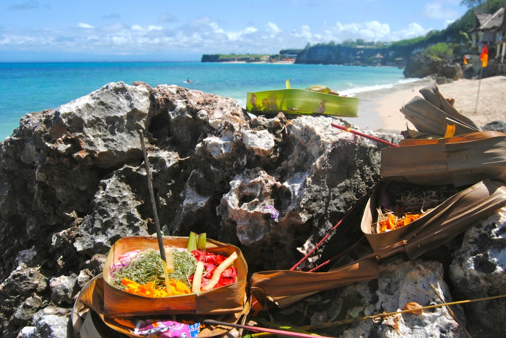 Offerings At Bingin, Bali