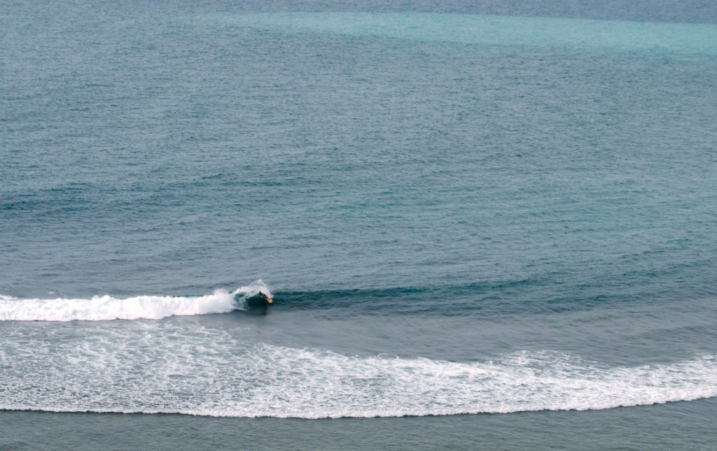 Unknown surfer, Bingin Beach, Bali