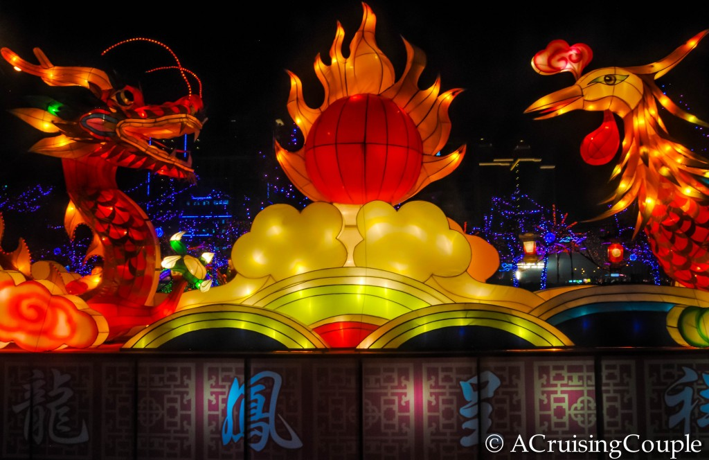 Lantern Festival Dragon and Bird