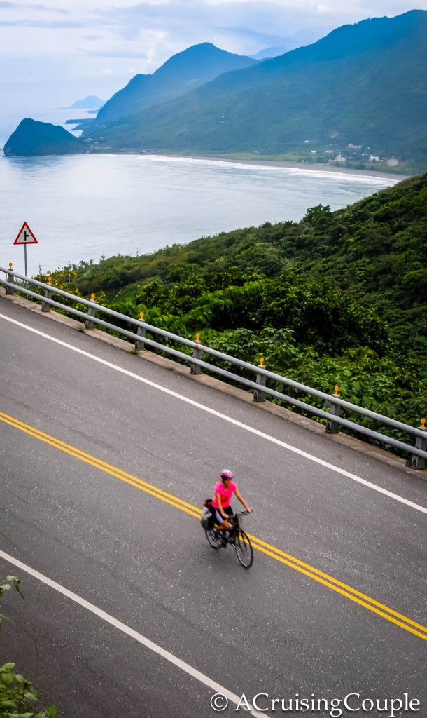 Cycling along Taiwan East Coast