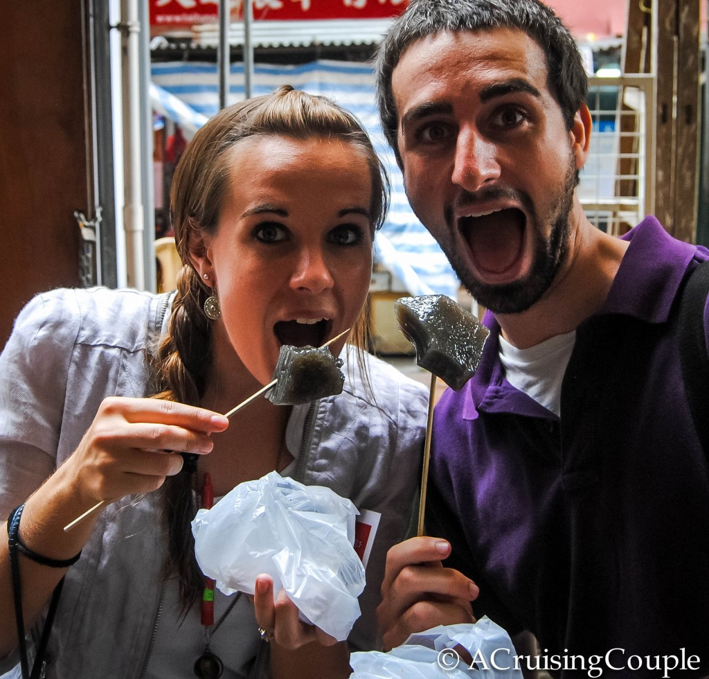 A Cruising Couple excited Hong Kong Foodie