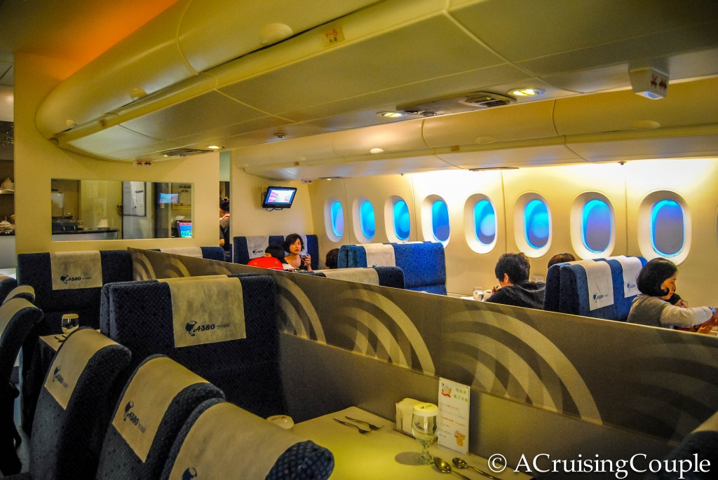 A380 Sky Kitchen Theme Restaurants Taipei