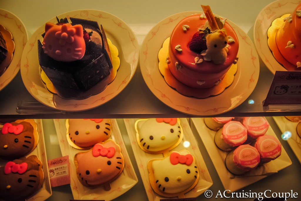 Hello Kitty Theme Restaurants Cakes Taipei Taiwan
