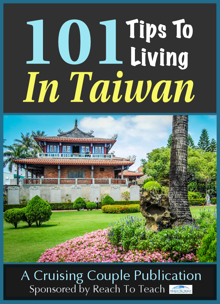 101 Tips to Living in Taiwan is a n easy to digest guide that teaches