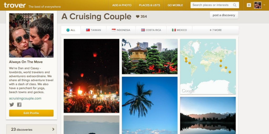 A Cruising Couple Trover