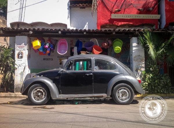 How to Travel Mexico in Style - Mexican Vocho Black