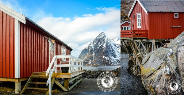 Houses in Lofoten Islands