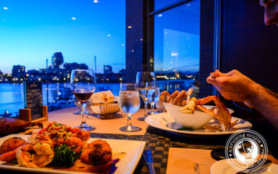 Wining and Dining at Victoria Harbor | The Blue Crab Seafood House