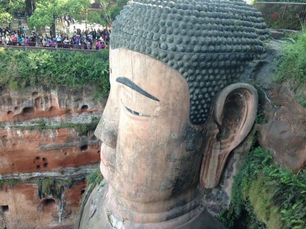 Sunday Snapshot | Giant Buddha Watching Over the River | China