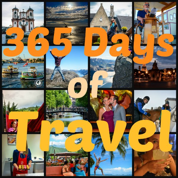 One Year of Travel