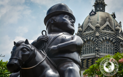 Sunday Snapshot | Man on Horseback | Medellin