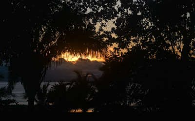 Sunday Snapshot | Sunrise in Costa Rica | Playa Tamales