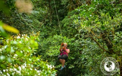 Sunday Snapshot | Zip Lining Through the Jungle | Costa Rica
