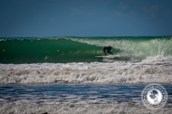 Sunday Snapshot | Unknown Surfer Grabs Perfect Barrel | Dominical, Costa Rica