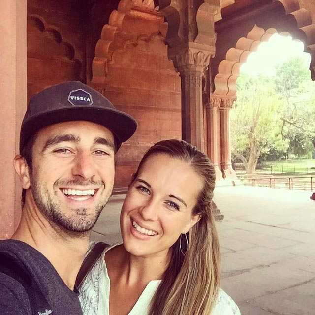 A Cruising Couple Traveling India