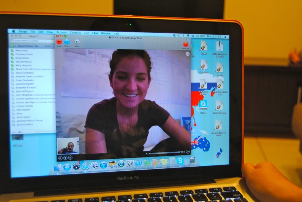 Skype Keeps Friendships Alive