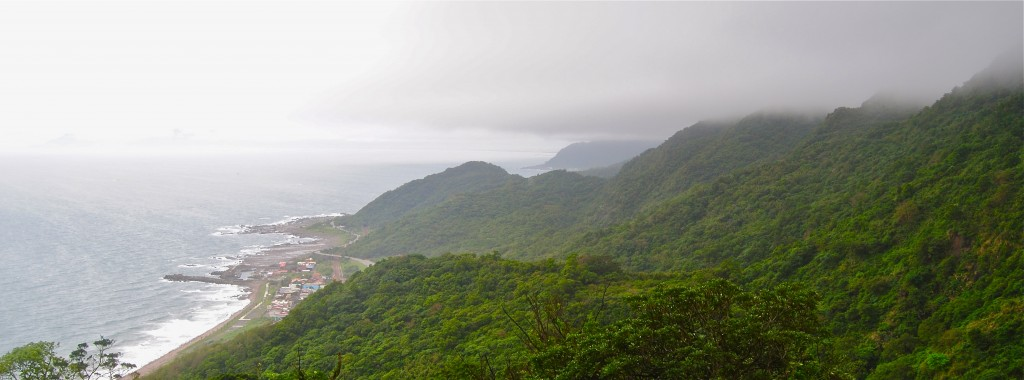 East Coast Taiwan from the Caoling Historic Trail