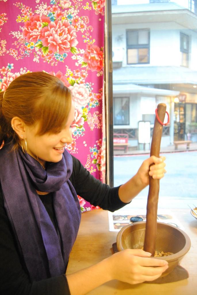 Making Lei Cha, Beipu