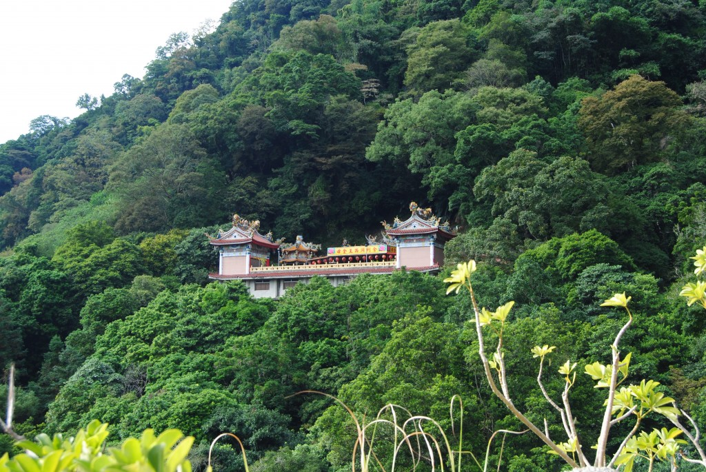 Hillside Temple, Lion Head Mountain