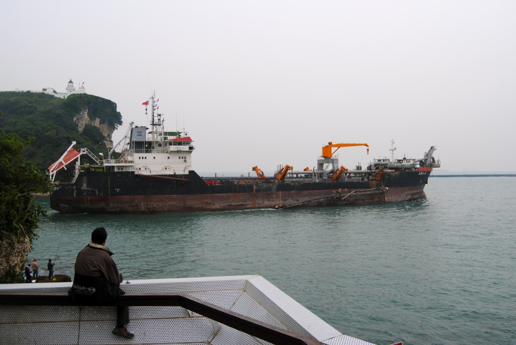 Shipping out, Kaohsiung