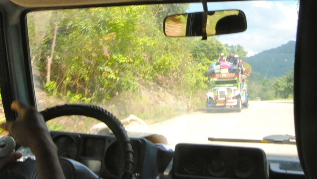 Van Ride to Underground River