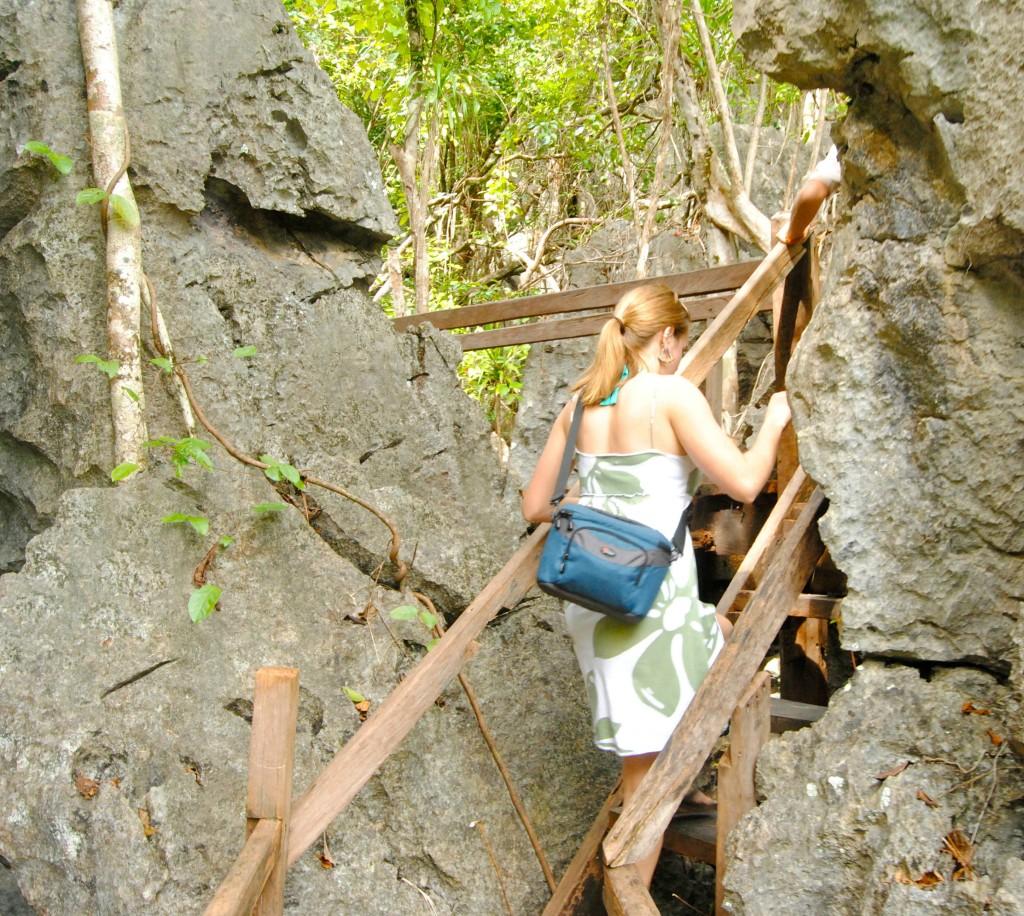 A Cruising Couple, Monkey Trail, Underground River