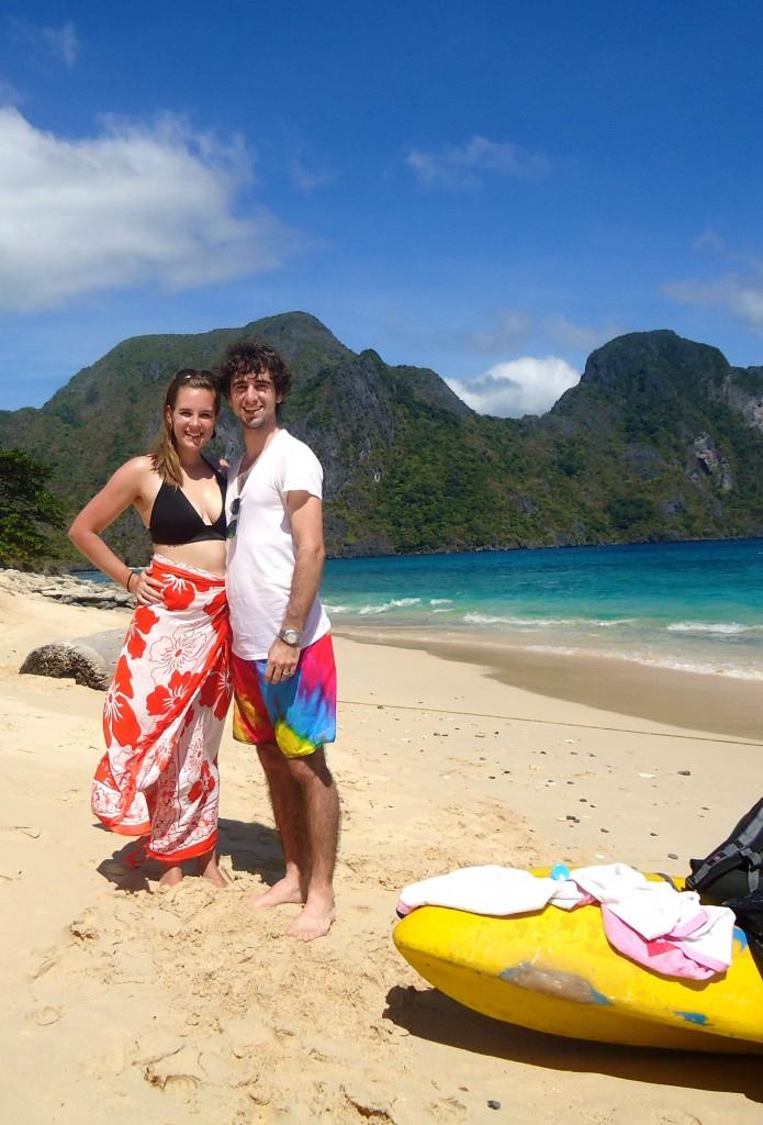 A Cruising Couple, Beach, El Nido