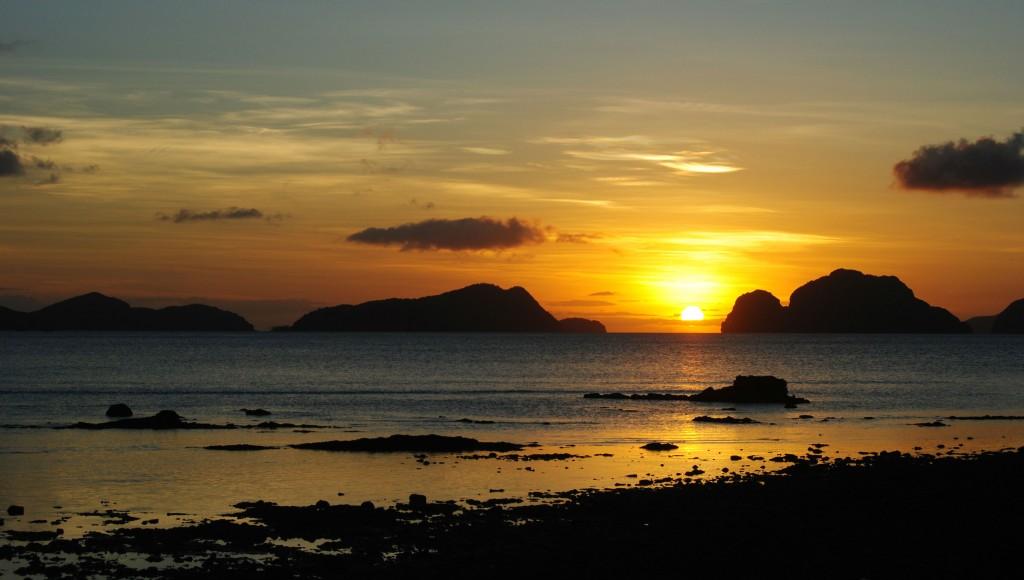 Sunset, El Nido