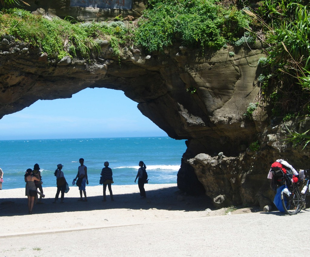 Natural Bridge at the Beach