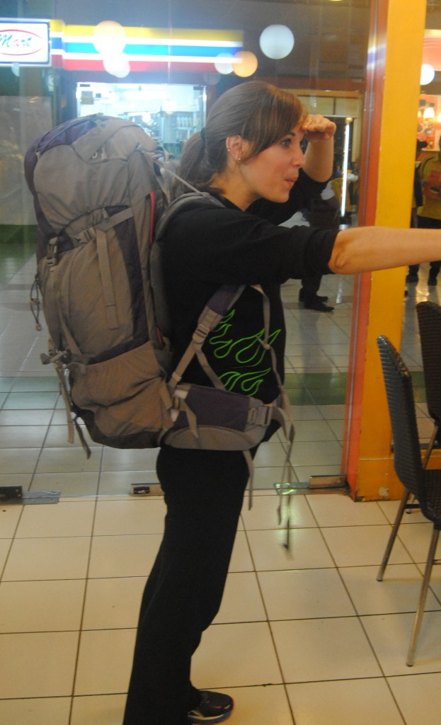 A Cruising Couple, New Backpack for Indonesia
