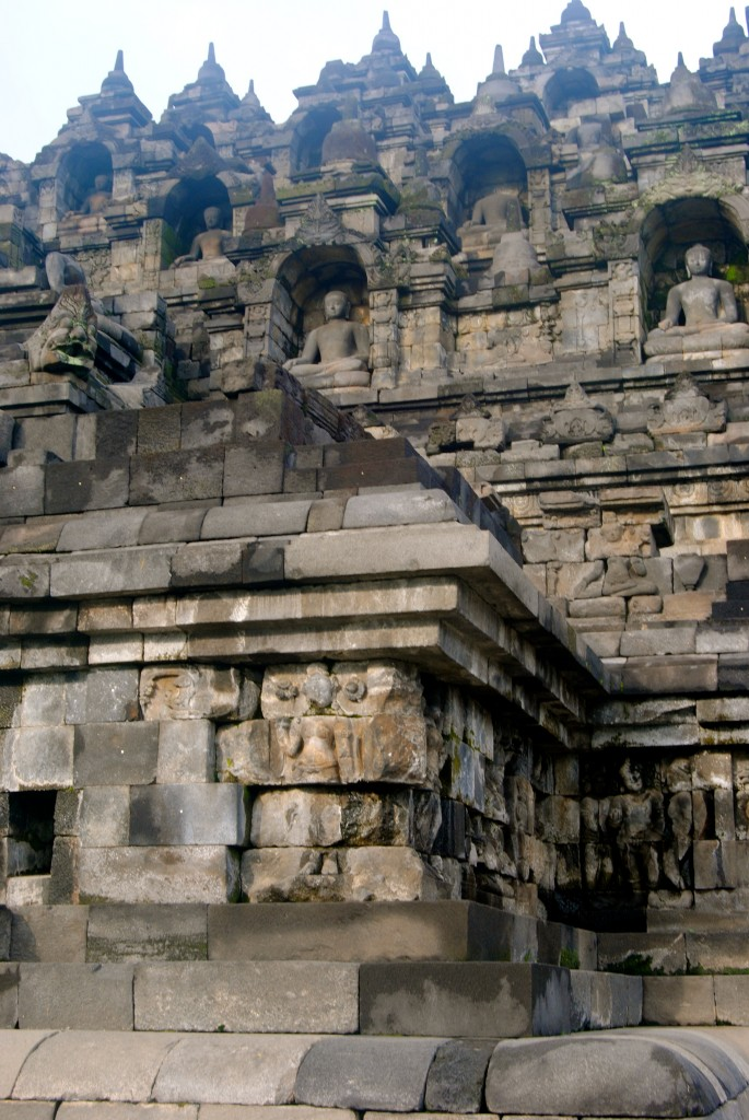 Buddhas, Borobudur