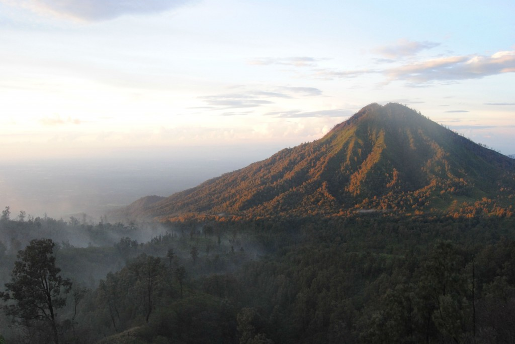 Sunrise from Ijen