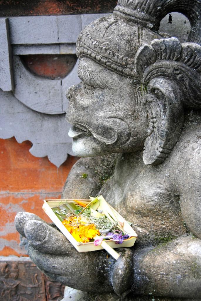 Statue Offerings Ubud, Bali