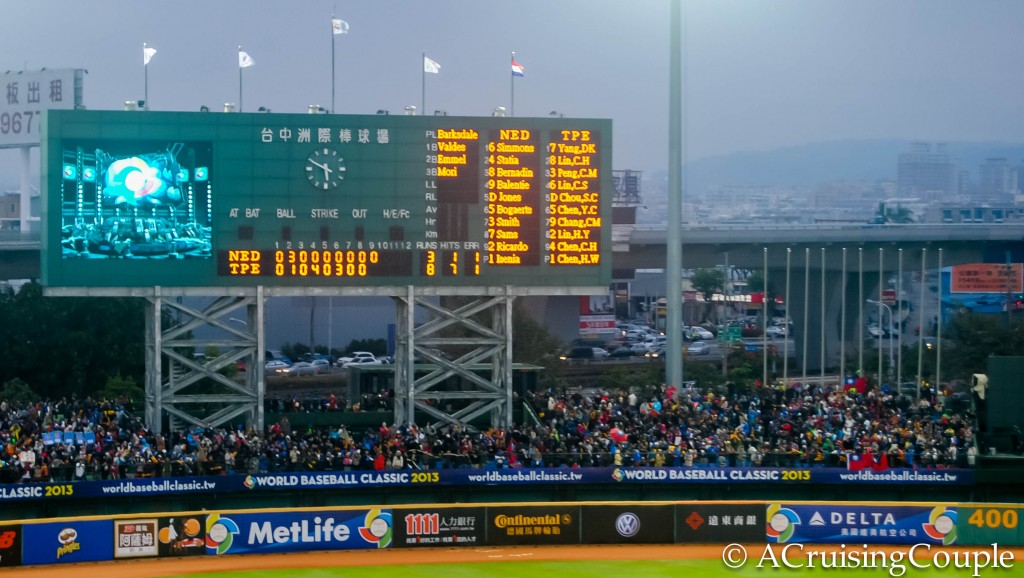 Chinese Taipei beats Nederlands World Baseball Classic Taichung