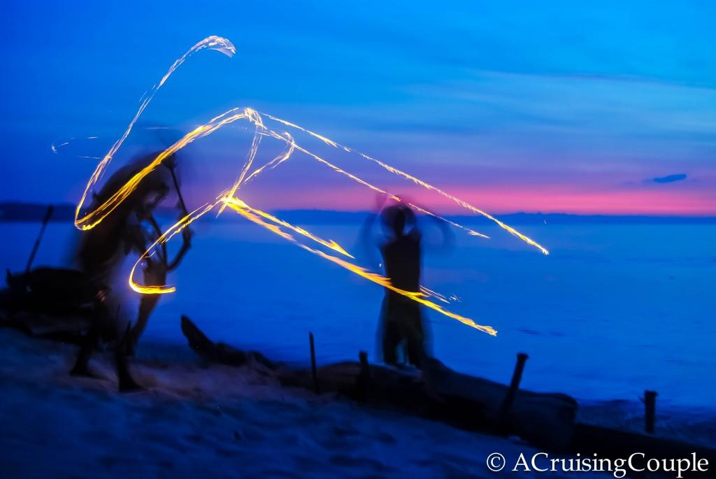 Gili Islands Fire Dancing