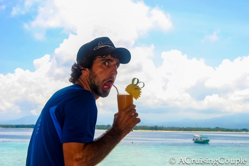 Gili Islands Juice A Cruising Couple