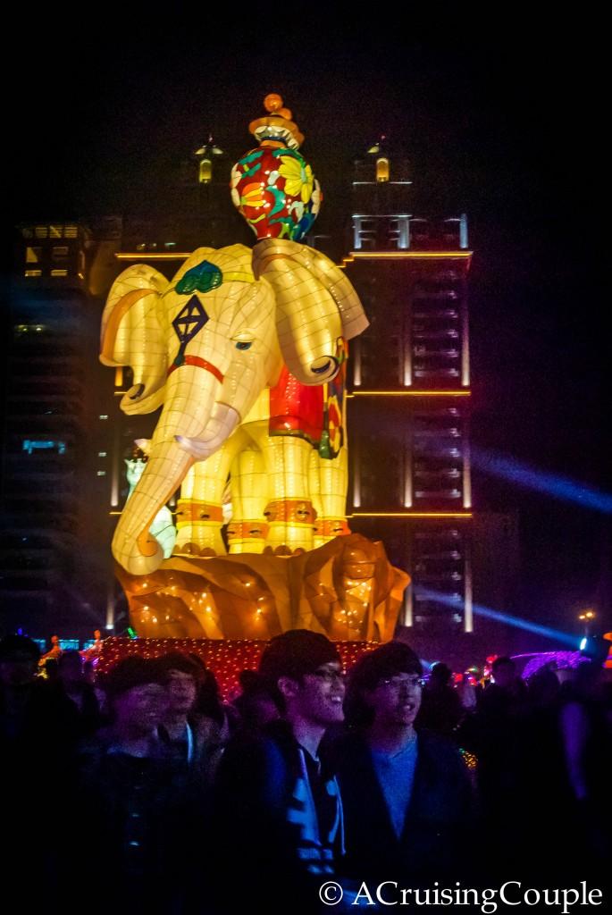 Lantern Festival Big Elephant