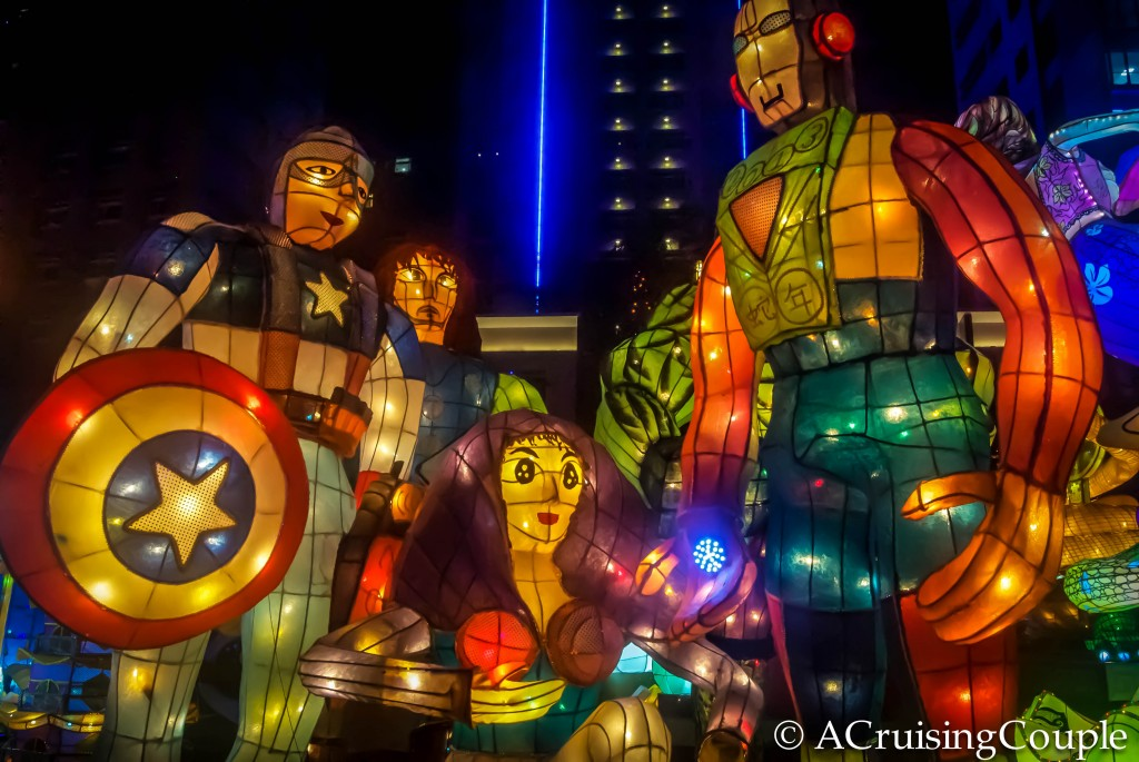Lantern Festival Superheroes